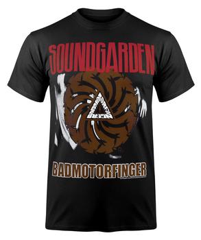 koszulka SOUNDGARDEN - BADMOTORFINGER BLACK