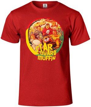 koszulka STAR GUARD MUFFIN - SZANUJ czerwona