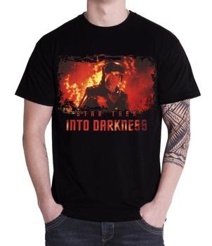 koszulka STAR TREK INTO DARKNESS- SPOCK FIRE