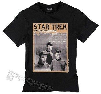 koszulka STAR TREK - SPACE: THE FINAL FRONTIER czarna