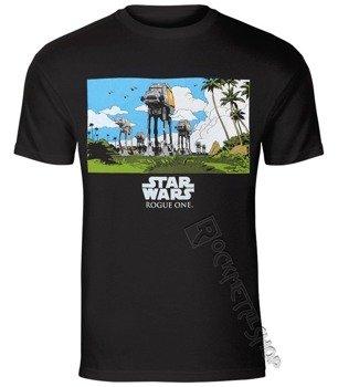 koszulka STAR WARS - ROGUE ONE AT-AT MARCH