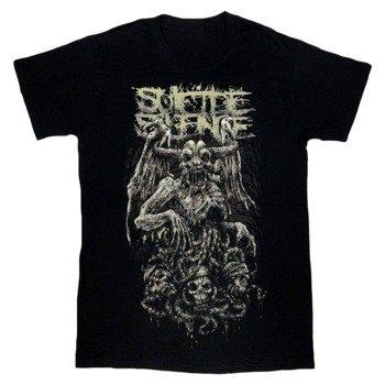 koszulka SUICIDE SILENCE - GARGOYLE & 3 SKULLS