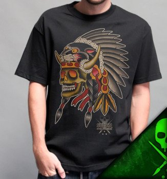 koszulka SULLEN - TOMAHAWK czarna