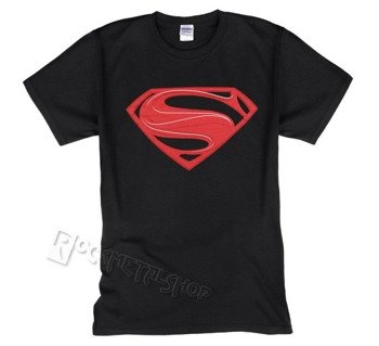 koszulka SUPERMAN - MAN OF STEEL - RED LOGO