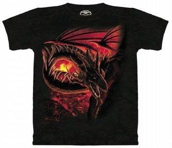 koszulka Skulbone-Hellfire Dragon (barwiona)