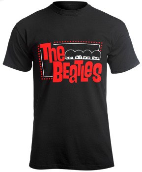 koszulka THE BEATLES - RED LOGO