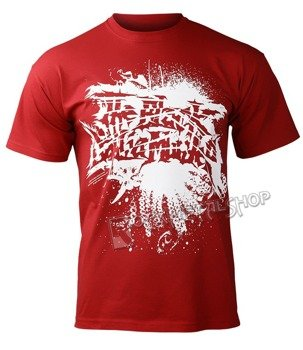 koszulka THE BLACK DAHLIA MURDER  - LOGO (RED)