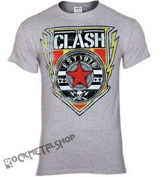 koszulka THE CLASH - SHIELD 1976