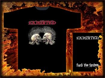 koszulka THE EXPLOITED - FUCK THE SYSTEM