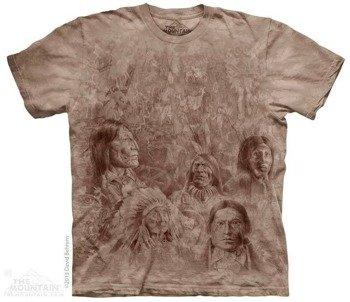 koszulka THE MOUNTAIN - ANCESTRAL WALL, barwiona