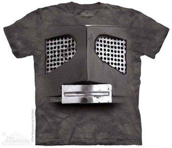 koszulka THE MOUNTAIN - BIG FACE GRAY ROBOT, barwiona