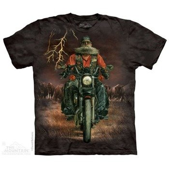 koszulka THE MOUNTAIN - BUFFALO THUNDER, barwiona