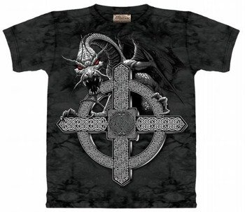koszulka THE MOUNTAIN - CELTIC CROSS DRAGON