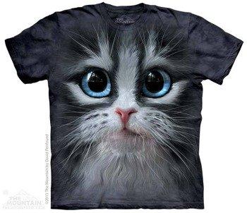 koszulka THE MOUNTAIN - CUTIE PIE KITTEN FACE, barwiona