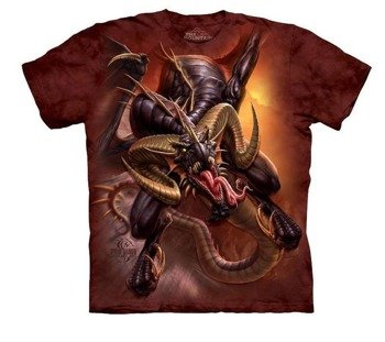 koszulka THE MOUNTAIN - DRAGON RAID, barwiona