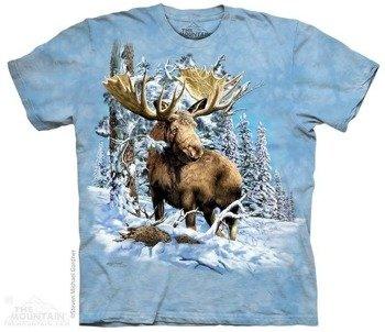 koszulka THE MOUNTAIN - FIND 7 MOOSE, barwiona