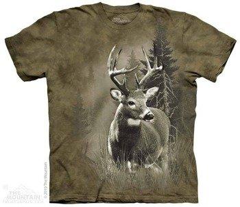 koszulka THE MOUNTAIN - LONE BUCK, barwiona