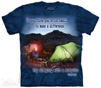 koszulka THE MOUNTAIN - MOSQUITO OUTDOOR, barwiona