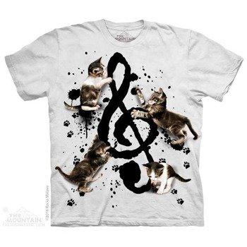 koszulka THE MOUNTAIN - MUSIC KITTENS, barwiona