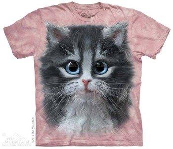 koszulka THE MOUNTAIN - PRETTY IN PINK KITTEN, barwiona