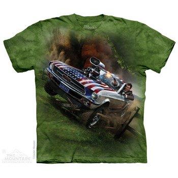 koszulka THE MOUNTAIN - REAGAN LIBERATOR HUMOR , barwiona