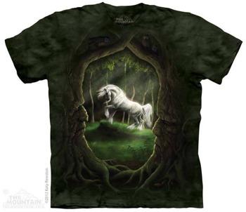 koszulka THE MOUNTAIN - UNICORN GLADE, barwiona