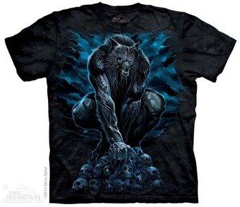 koszulka THE MOUNTAIN - WEREWOLF RISING, barwiona