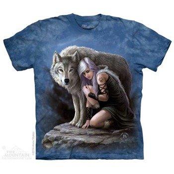 koszulka THE MOUNTAIN - WOLVEN PROTECTOR, barwiona