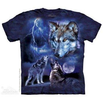 koszulka THE MOUNTAIN - WOLVES OF THE STORM, barwiona