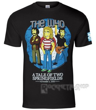 koszulka THE SIMPSONS - THE WHO BULLSEYE