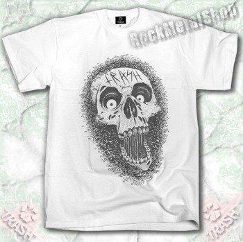 koszulka TRASH SKULL ROBACZKI biała