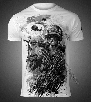 koszulka WAR IS HELL, biała