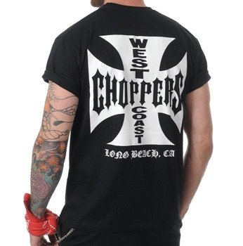 koszulka WEST COAST CHOPPERS - IRON CROSS czarna