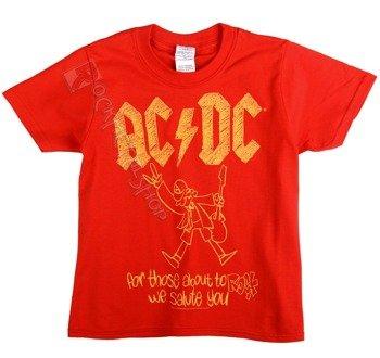 koszulka dziecięca AC/DC - FOR THOSE ABOUT TO ROCK