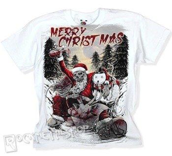 koszulka dziecięca BLACK ICON - MERRY CHRISTMAS biała
