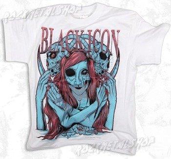 koszulka dziecięca BLACK ICON - MY BRAIN MY SKULL white