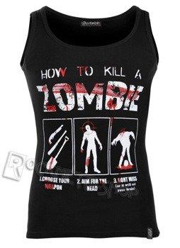 koszulka na ramiączka DARKSIDE - HOW TO KILL A ZOMBIE