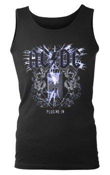 koszulka na ramiączkach AC/DC - PLUG ME IN