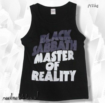 koszulka na ramiączkach BLACK SABBATH - MASTER OF REALITY