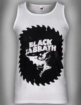 koszulka na ramiączkach BLACK SABBATH - SAW white
