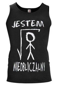 koszulka na ramiączkach JESTEM NIEOBLICZALNY