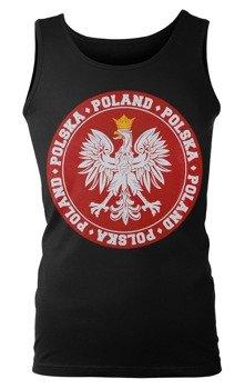 koszulka na ramiączkach POLAND POLSKA
