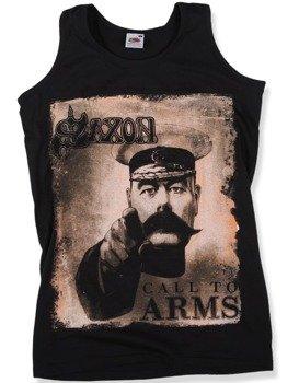 koszulka na ramiączkach SAXON - CALL TO ARMS