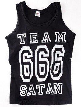 koszulka na ramiączkach TEAM 666 SATAN