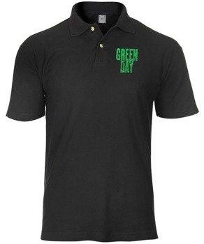 koszulka polo GREEN DAY - GREEN LOGO