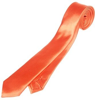 krawat POMARAŃCZOWY