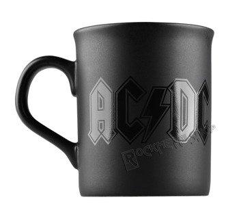 kubek AC/DC - CLASSIC LOGO BLACK MATT