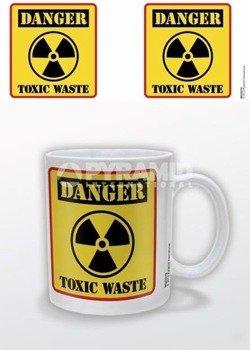 kubek DANGER - TOXIC WASTE