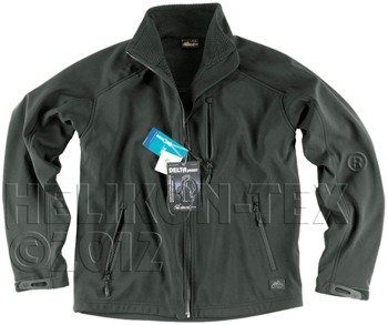 kurtka DELTA JACKET SHARK SKIN JUNGLE GREEN