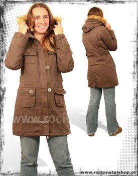 """kurtka jesienno-zimowa """"HBH"""" kolor brąz"""